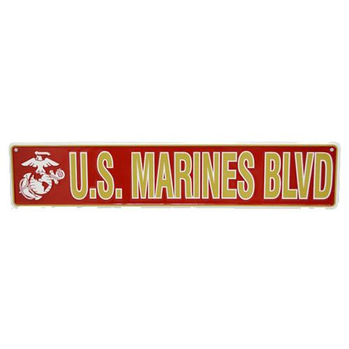 San Diego Gift U.S. Marines Blvd Metal Street Signs