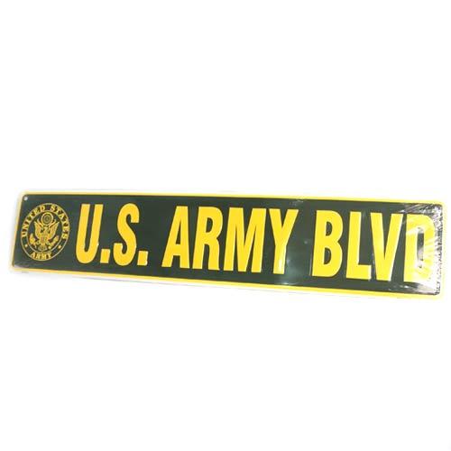 San Diego Gift U.S. Army Blvd Metal Street Signs
