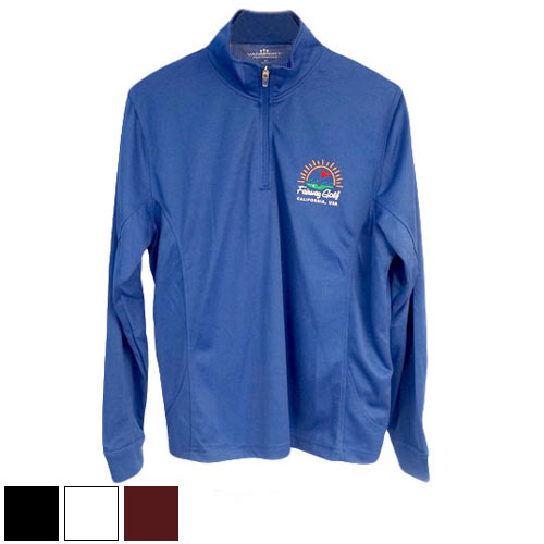 San Diego Gift Vansport Mesh 1/4 Zip Tech Pullovers (#3405)