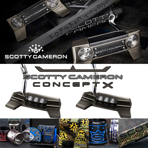 Scotty Cameron Concept X Custom Putters