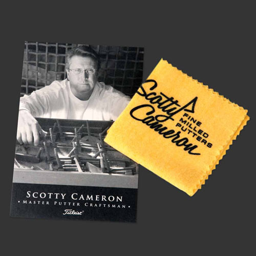 Scotty Cameron Oil Cloth Towels