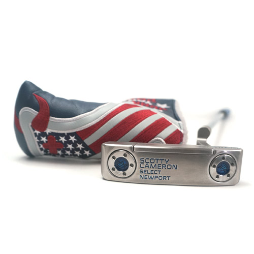 Scotty Cameron Newport Blue Custom Shop Putter