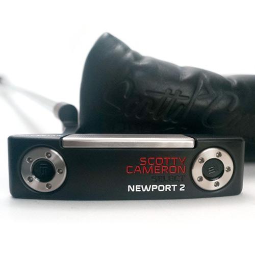 Scotty Cameron Newport 2 Black/Red/White Custom Putter