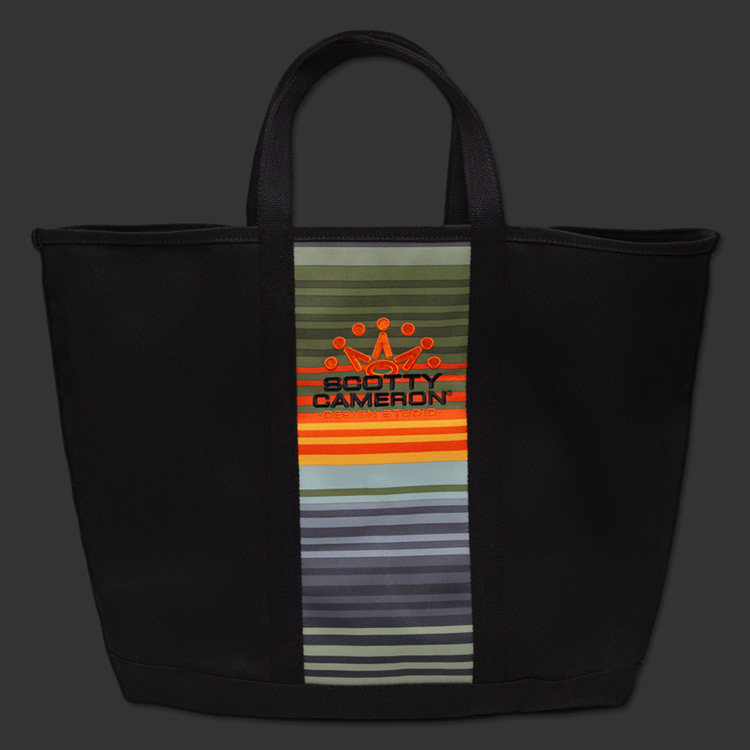Scotty Cameron Sunset Serape Canvas Tote Bag