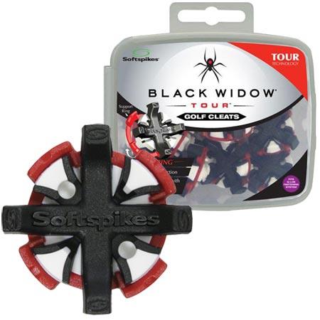 Softspikes Black Widow Tour Q Fit Insert Cleats
