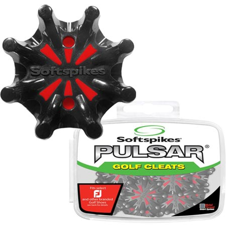 Softspikes Pulsar Metal Thread Insert Golf Cleats