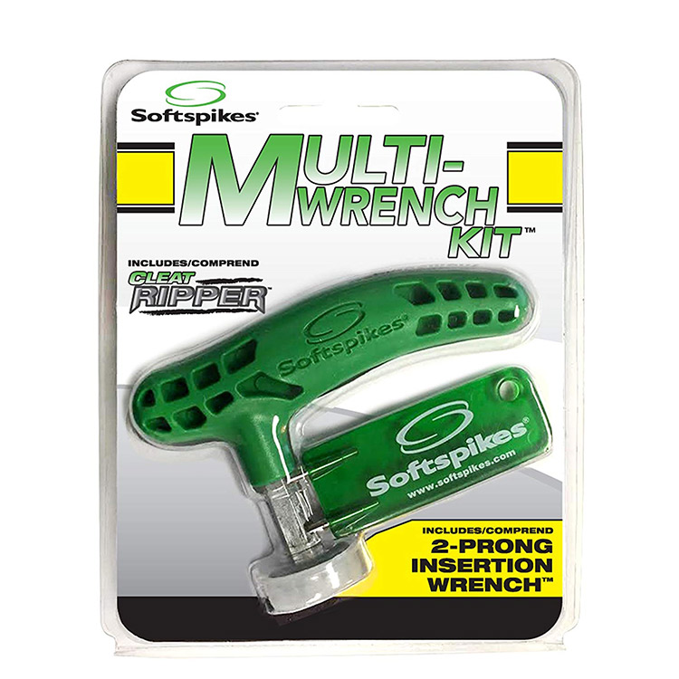 Softspikes Cleat Ripper Spike Wrench and 2 Pin Wrench Combo