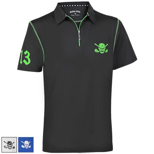 Tattoo Golf Lucky 13/Red Line Hybrid Performance Golf Shirts