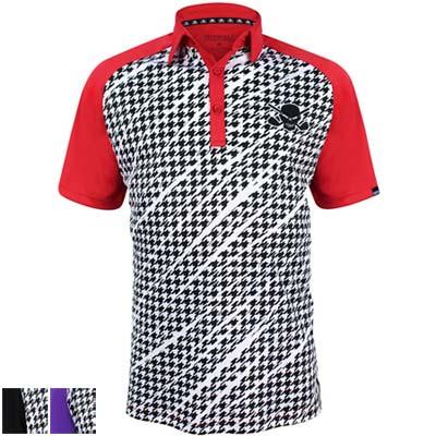 Tattoo Golf Houndstooth ProCool Golf Shirts