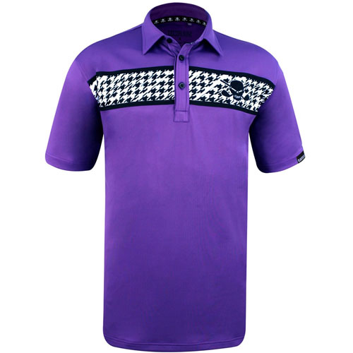 Tattoo Golf Clubhouse Houndstooth ProCool Golf Shirts