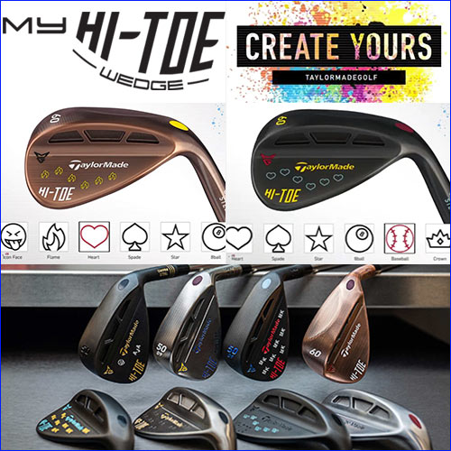 TaylorMade Milled Grind MyHi-Toe Wedge