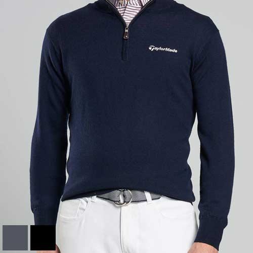 TaylorMade Crown Soft Quarter-Zip Sweater