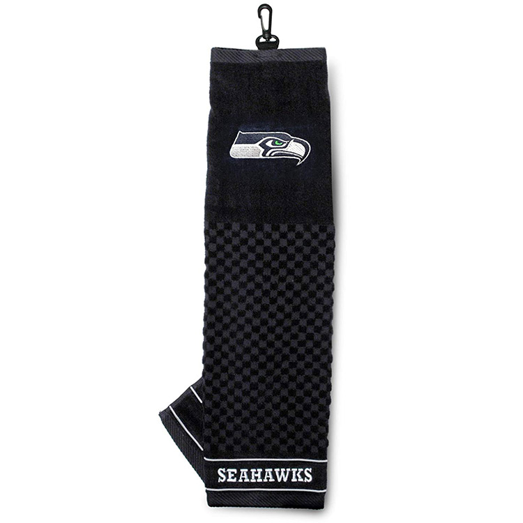 NFL Seattle Seahawks Embroidered Golf Towel