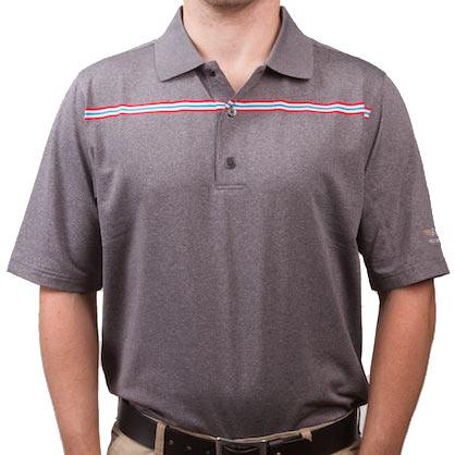 Vokey Design FJ ProDry Lisle Chest Stripe Polo Shirts