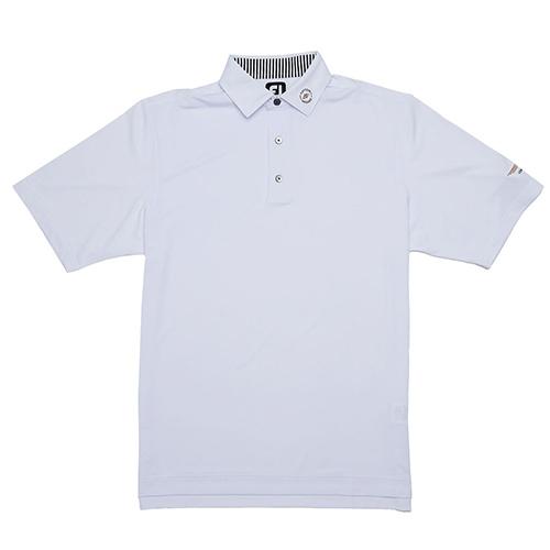 Vokey Design FJ ProDry Solid Lisle Shirt w/ Self Collar