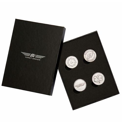 Vokey Design 4-Piece Ball Marker Kit