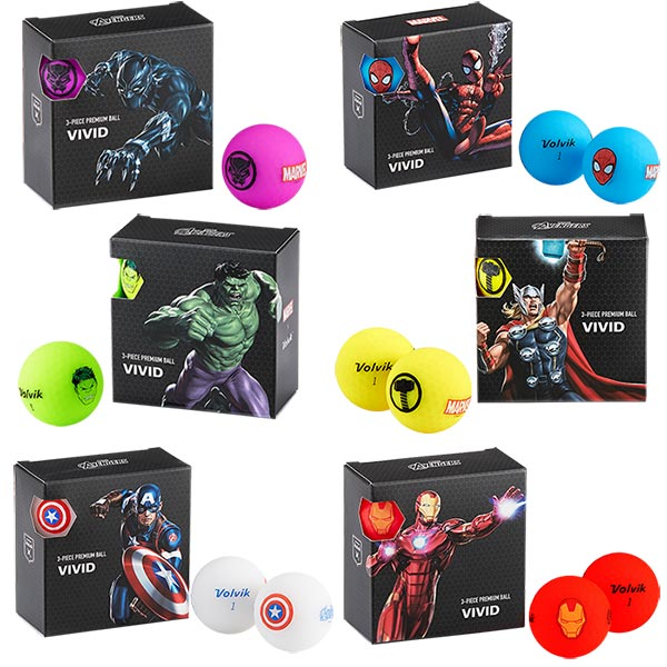 Volvik Marvel X Volvik Square Pack