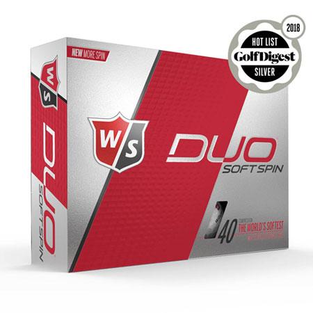 Wilson Staff DUO SOFT Spin Golf Ball