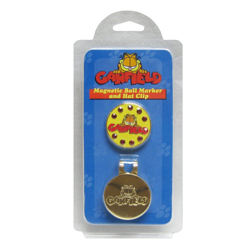 Winning Edge Garfield Magnetic Hat Clip Ball Markers