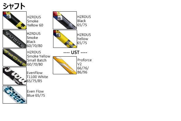 タイトリストカスタムビルドシャフト/シャフトスリーブ付きTSiシリーズウッド用 口コミ 評判 おすすめ 価格