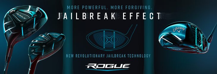 キャロウェイ 2018年 - 2本の柱、JAILBREAKテクノロジーを搭載 キャロウェイ ROGUE(ローグ)ウッド