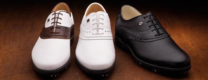 Footjoy フットジョイ ICON BLACK / アイコン ブラック ゴルフシューズ