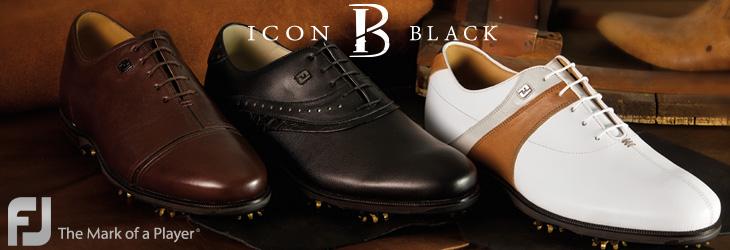 Footjoy フットジョイ 2015年ニューモデル ICON BLACK / アイコン ブラック ゴルフシューズ 快適シューズの登場!
