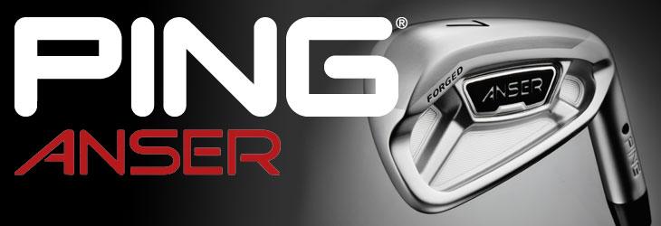ピン PING 2013年 新作ゴルフクラブ − ピン アンサー アイアン、ピン ゴージ ツアーウェッジ