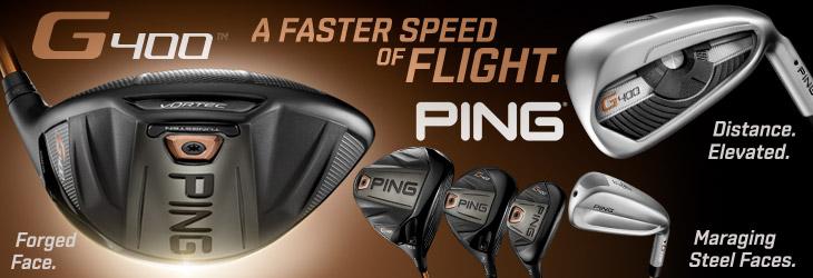 ピン PING G400 ドライバー、G400 フェアウェイウッド、G400 ハイブリッド、G400 アイアン