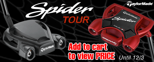 Taylor Made Tour Spider Red and Black Putters
