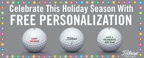 Titleist Free Perdonalization Golf Ball