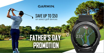 Garmin Approach S60 GPS Golf Watch Father'sday Promotion