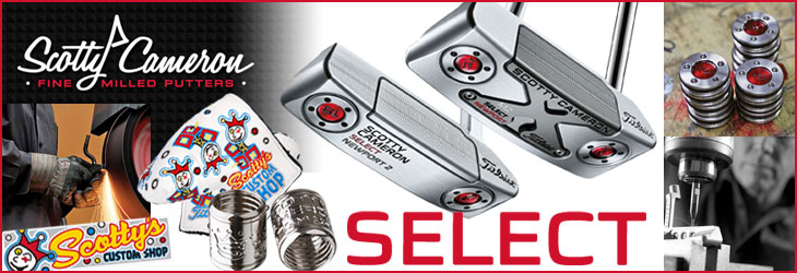 Scotty Cameron 2016 Select Series Custom Putters