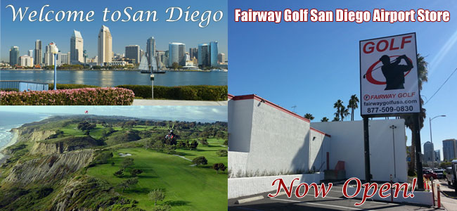 Fairway Golf San Diego Shop Information