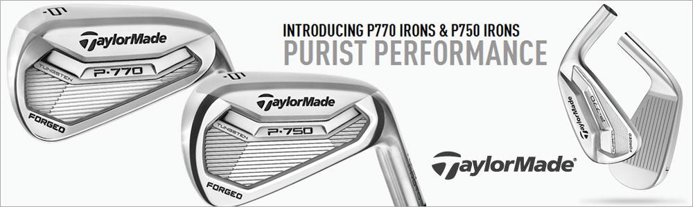 TaylorMade P770 & P750 Tour Proto Irons